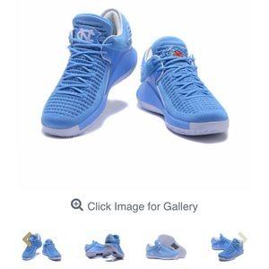 New air Jordan 32 low UNC mens basketball shoes.